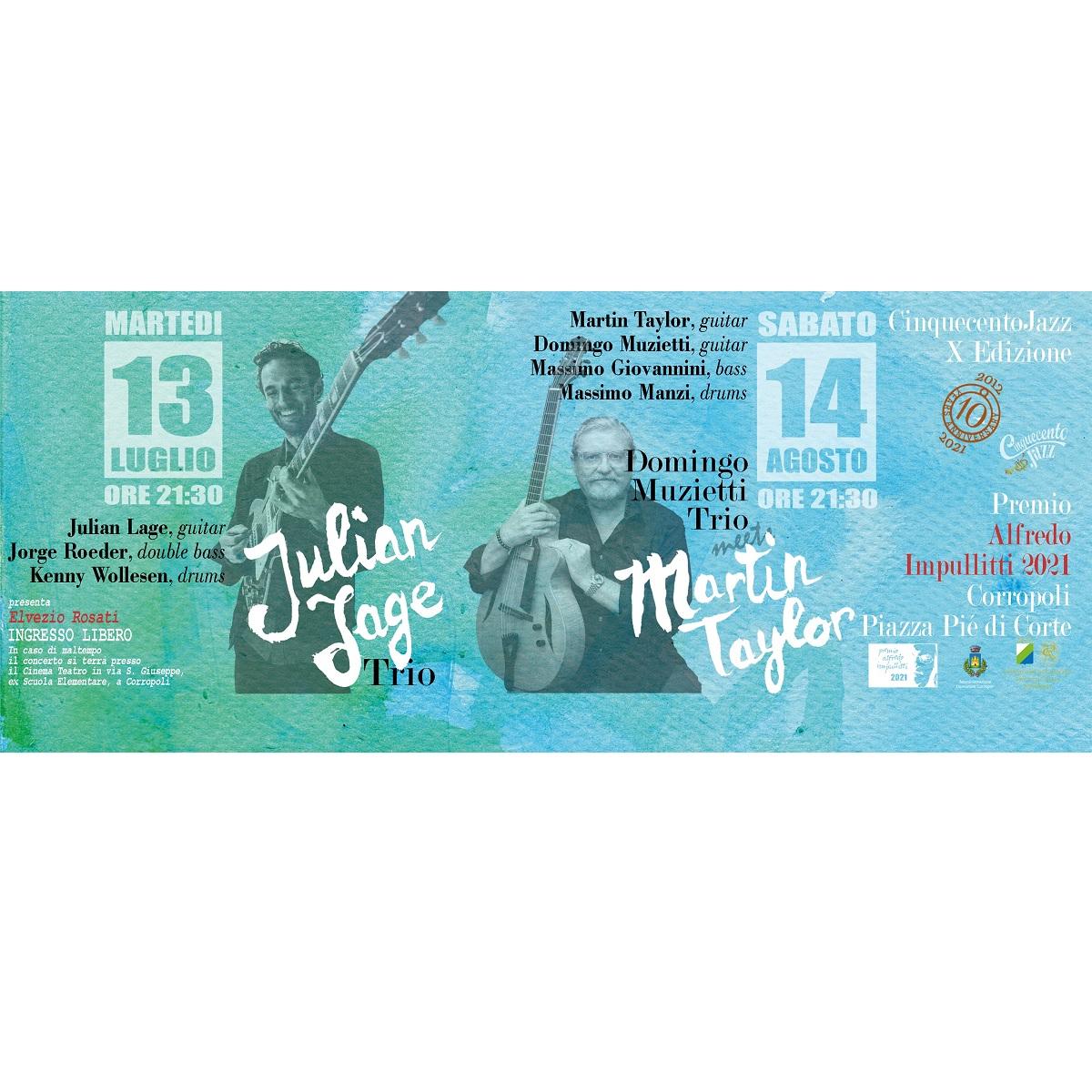 Julian Lage Trio a Corropoli 13 luglio 2021 foto