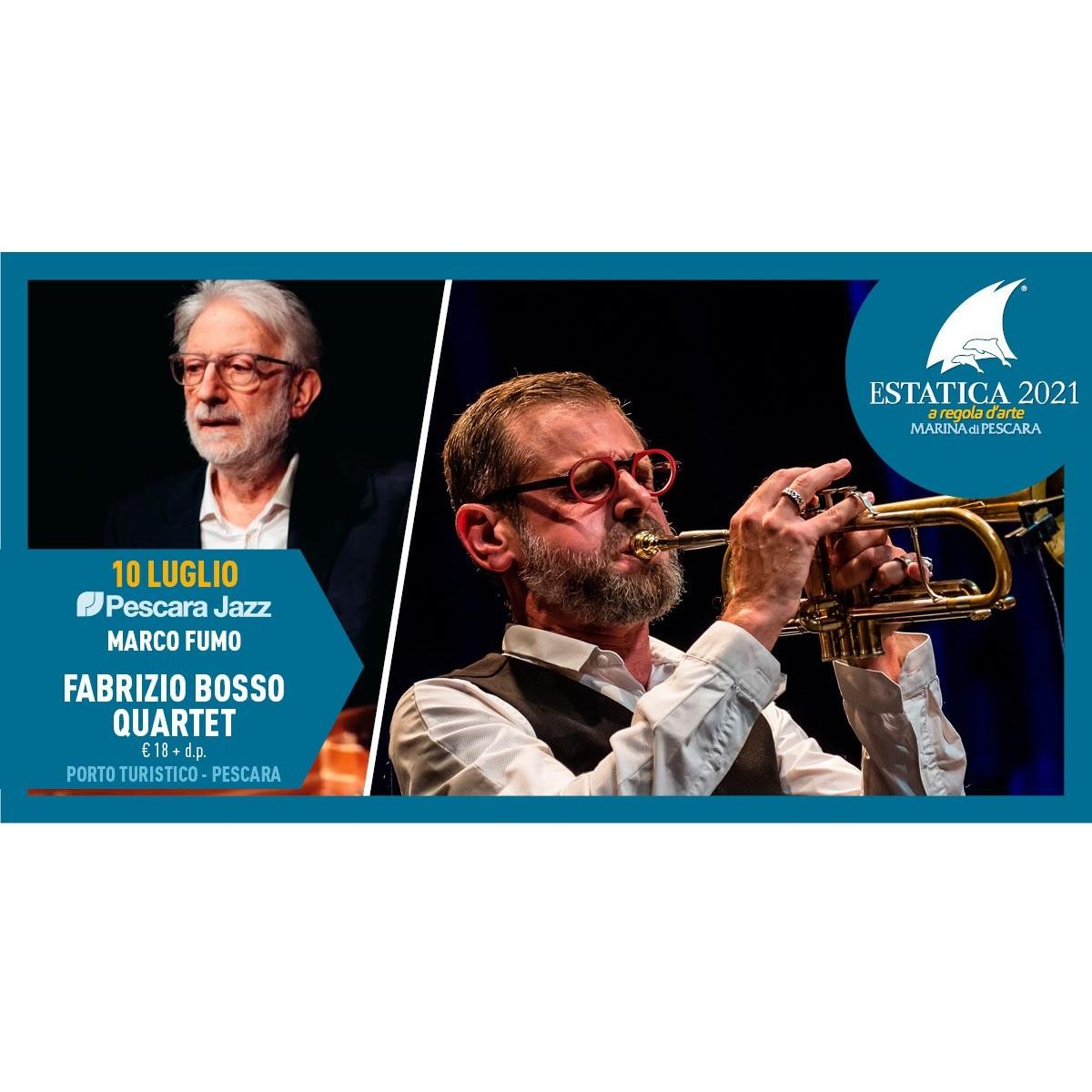 Marco Fumo e Fabrizio Bosso Quartet 10 luglio 2021 foto