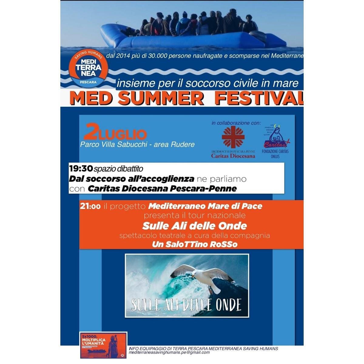 Med Summer Festival Pescara 2 luglio 2021 foto