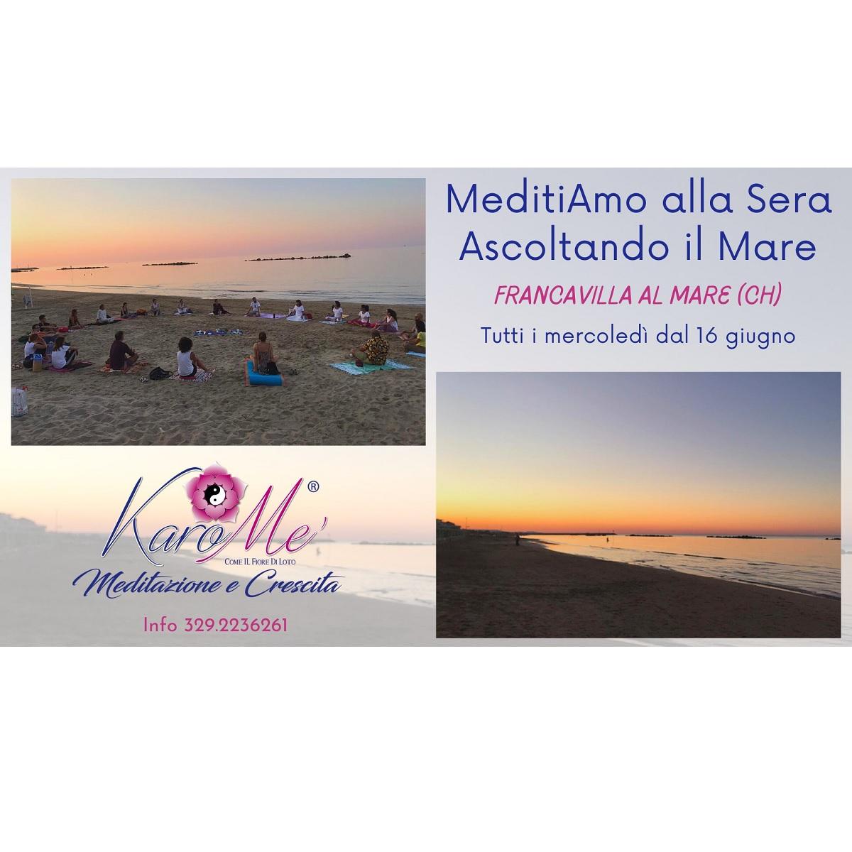 MeditiAmo Alla Sera Ascoltando il Mare 21 luglio 2021 foto