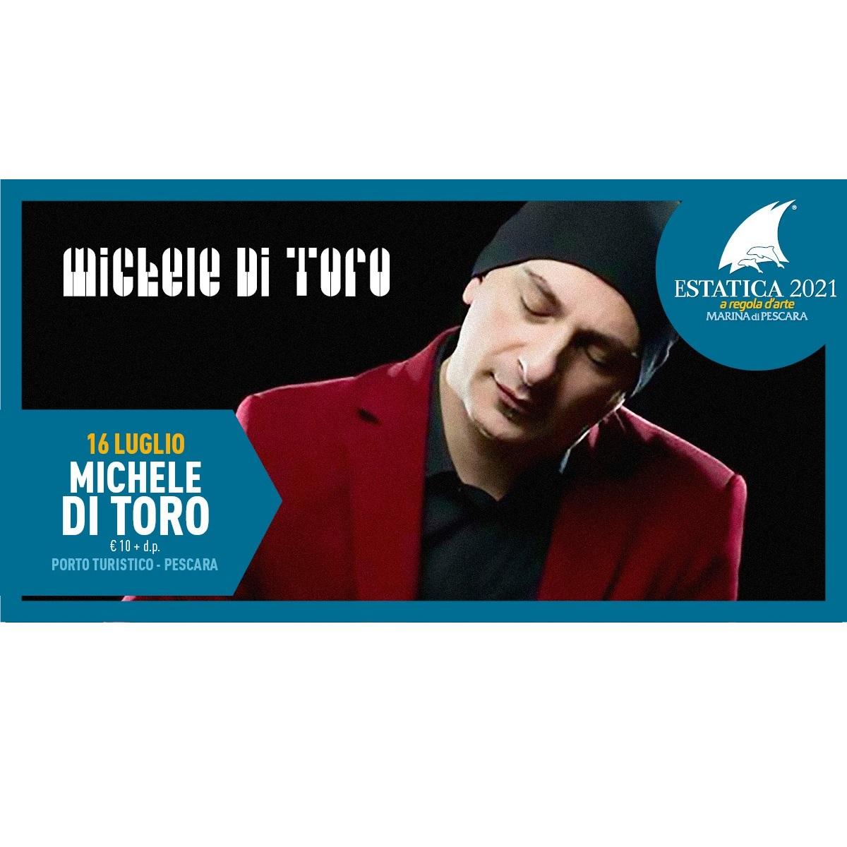 Michele Di Toro in concerto 16 luglio 2021 foto