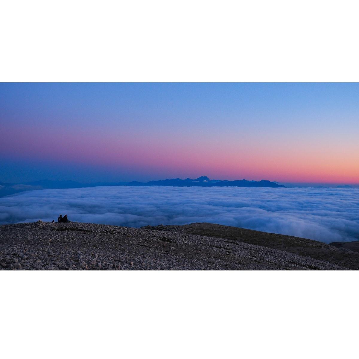 Notturna e alba sul Monte Amaro sabato 24 luglio 2021 foto