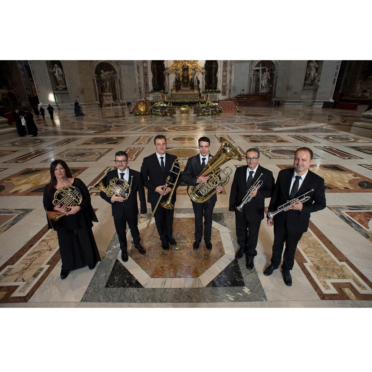 Ottoni della Cappella Musicale Pontificia Sistina 7 luglio 2021 foto
