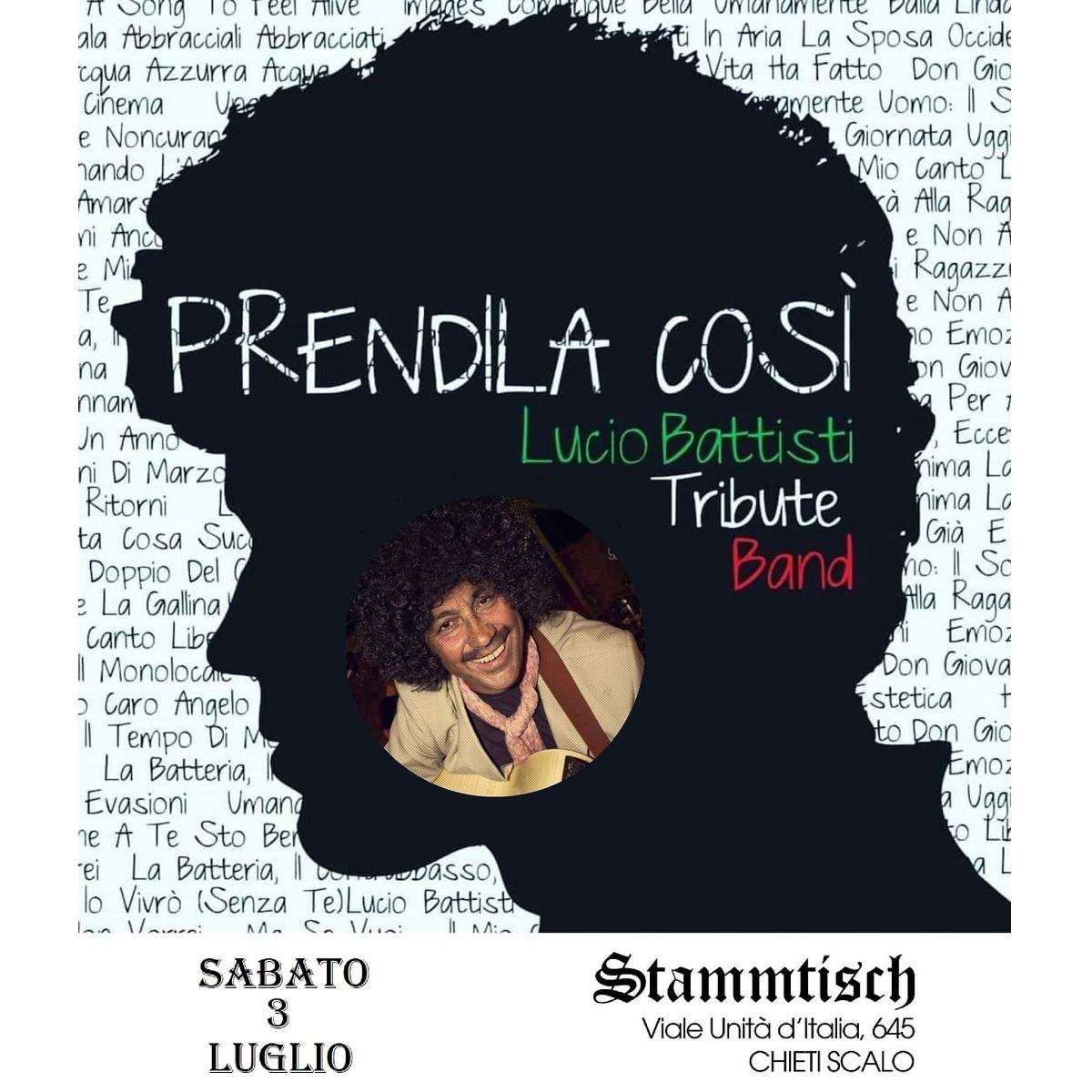 Prendila Così - Lucio Battisti Tribute Band 3 luglio 2021 foto
