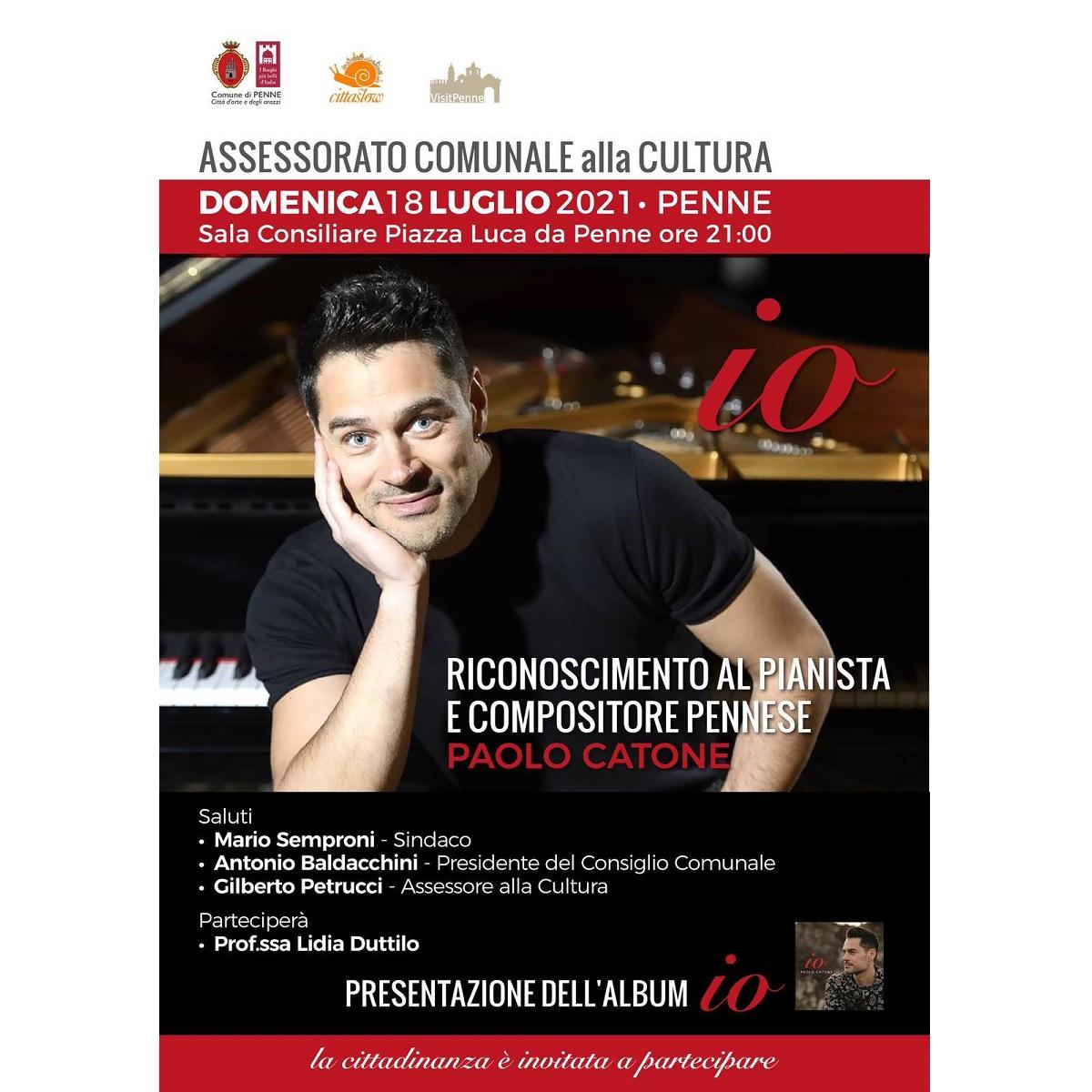 Presentazione dell'album Io di Paolo Catone a Penne foto