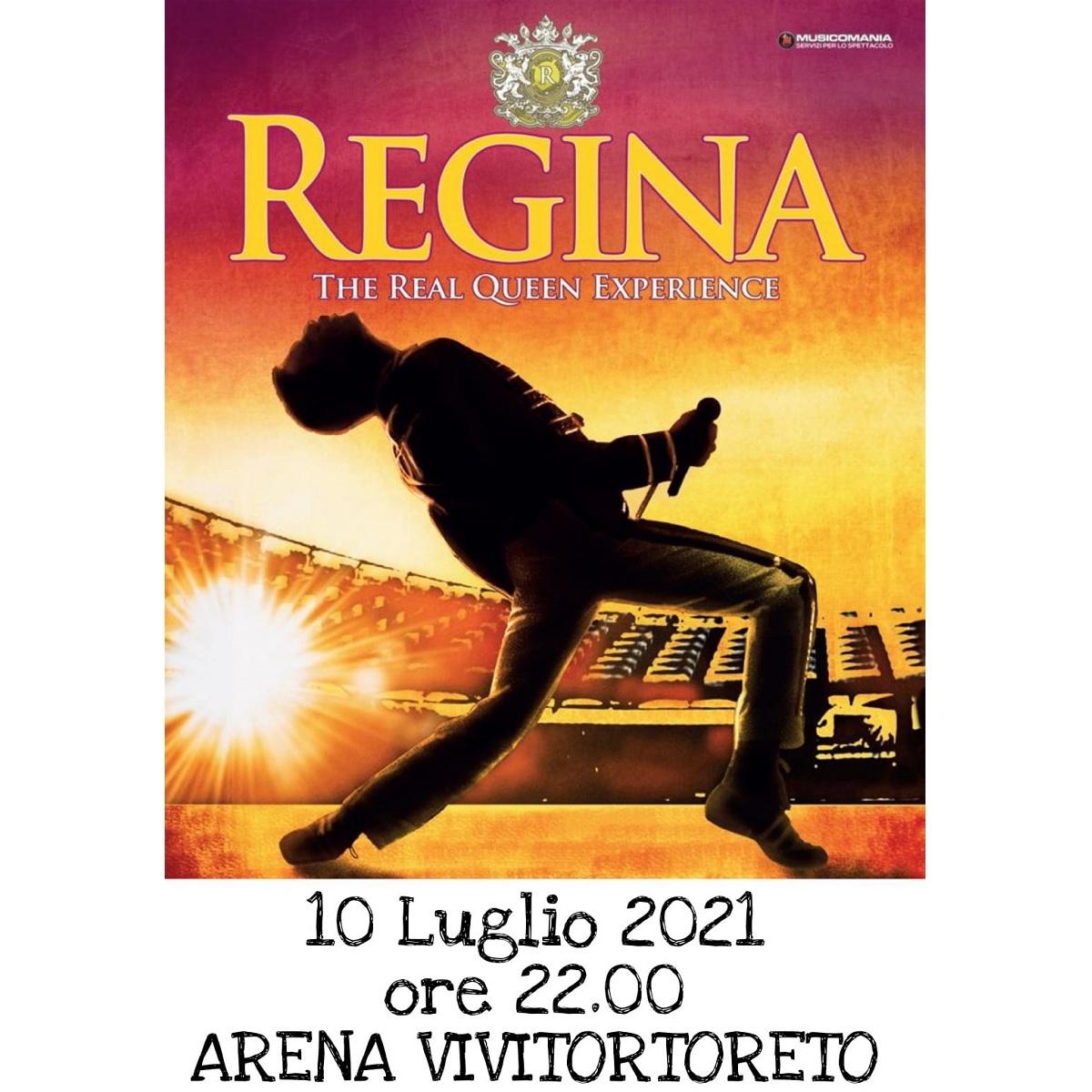 Regina The Real Queen Experience 10 luglio 2021 foto