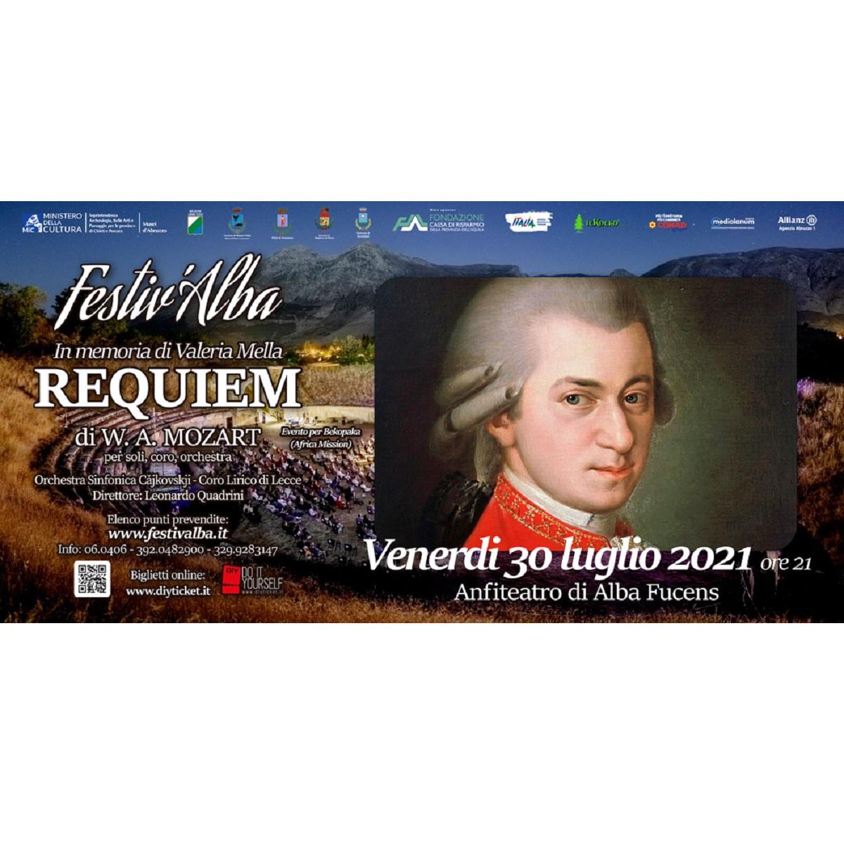 Requiem di W. A. Mozart ad Alba Fucens 30 luglio 2021 foto