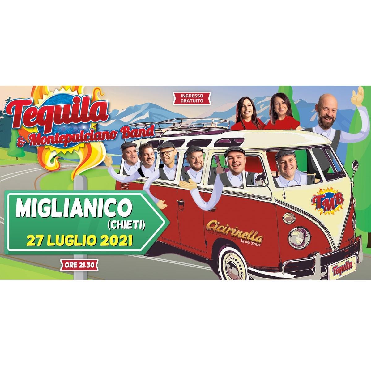 Tequila & Montepulciano Band a Miglianico 27 luglio 2021 foto