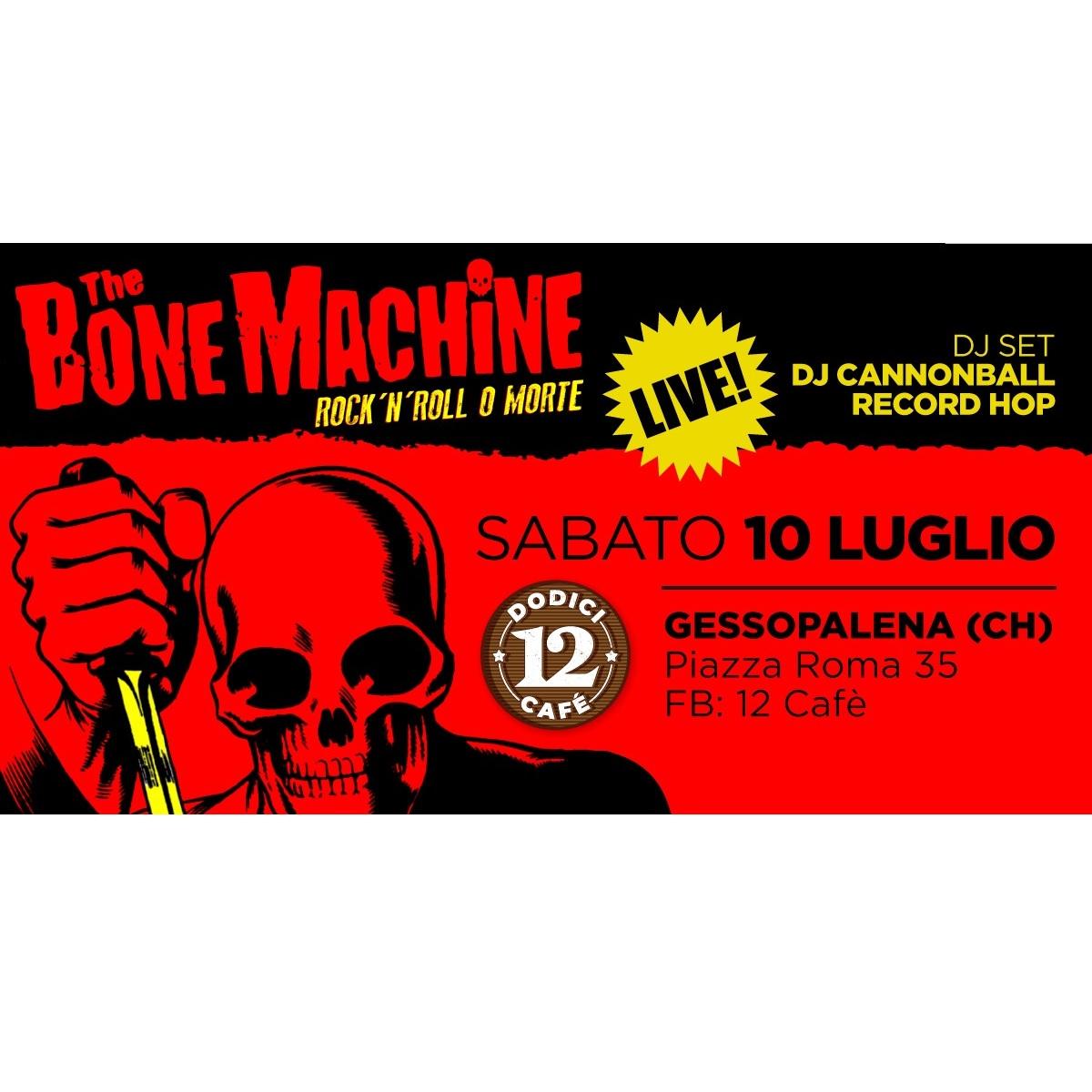 The Bone Machine live al 12 Cafè a Gessopalena foto