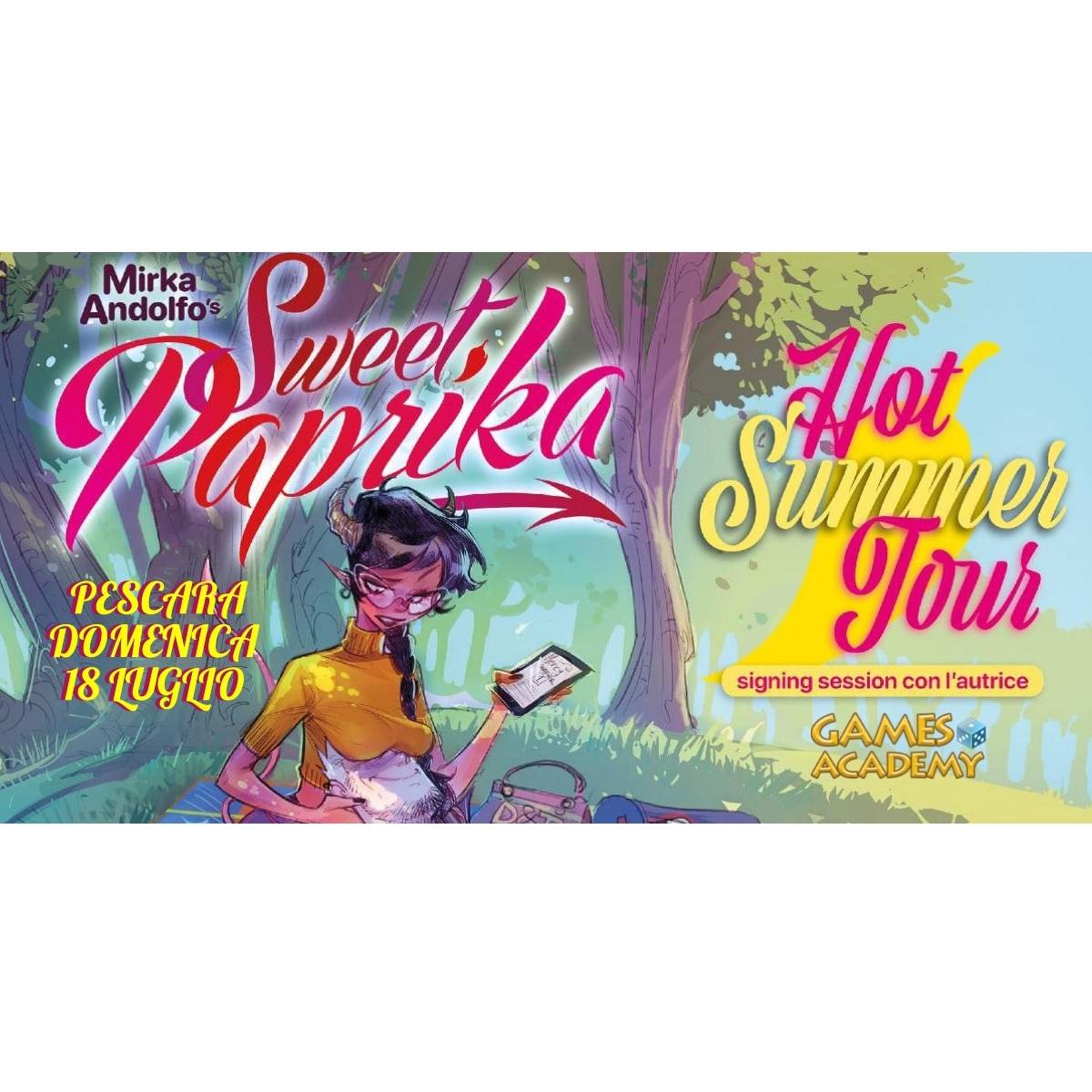 Tour Paprika - firmacopie con Mirka Andolfo 18 luglio 2021 foto