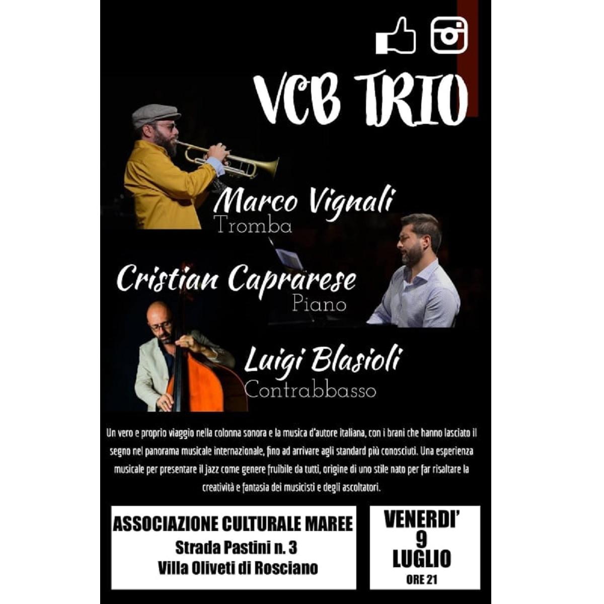VCB Trio in concerto venerdì 9 luglio 2021 foto