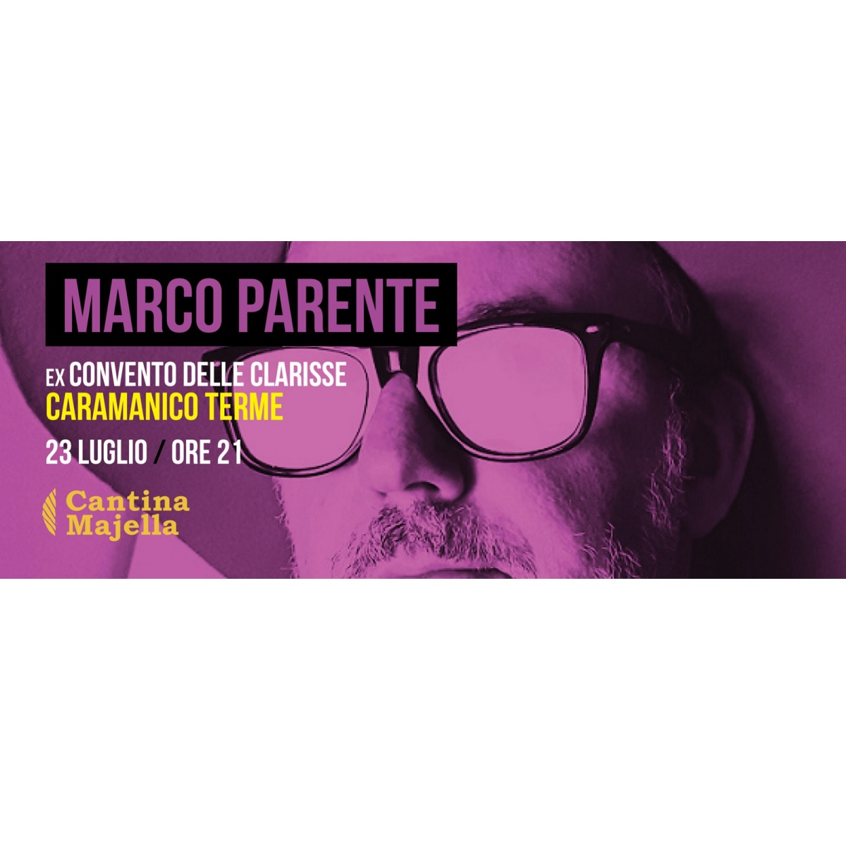 Venerdì 23 Luglio 2021 Marco Parente a Caramanico Terme foto