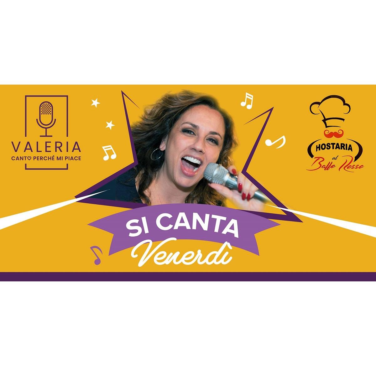 Venerdì karaoke con Valeria 23 luglio 2021 foto
